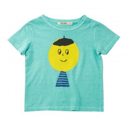 t-shirt-smiley-artist-bleu-turquoise